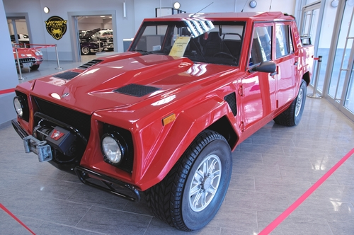 oil change Lamborghini LM002