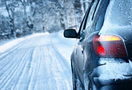 warm car in winter