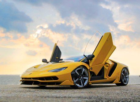 Lamborghini repair shop